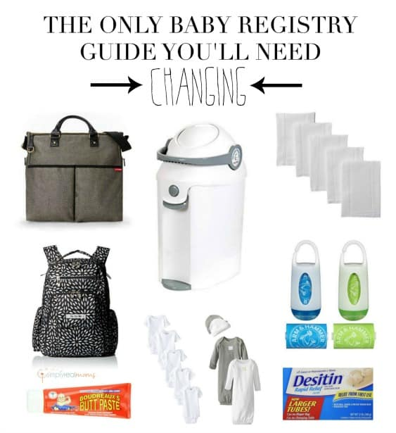 The Only Baby Registry Guide You'll Need Diapering