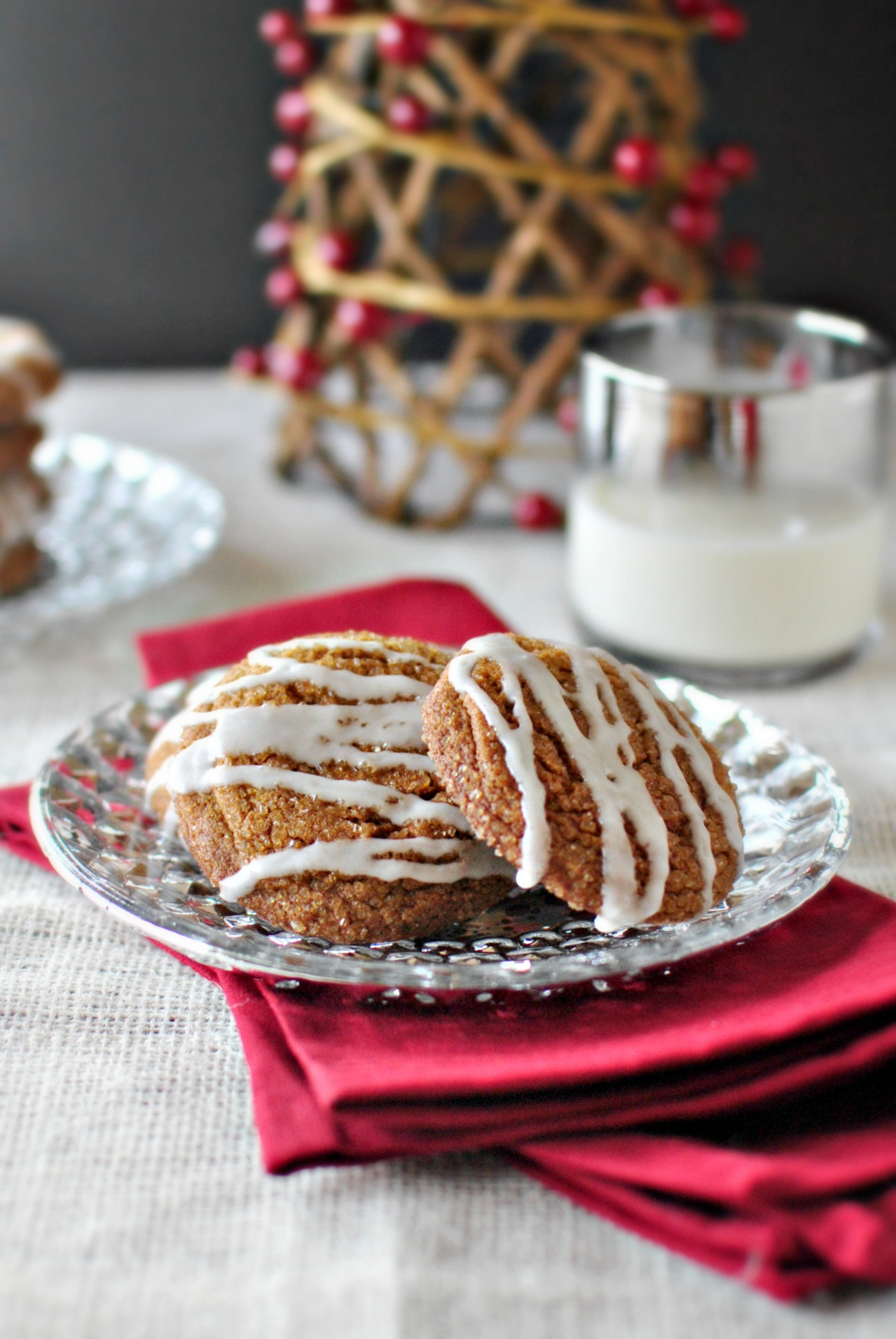 Simply Scratch Spiced Molasses Cookies Simply Scratch