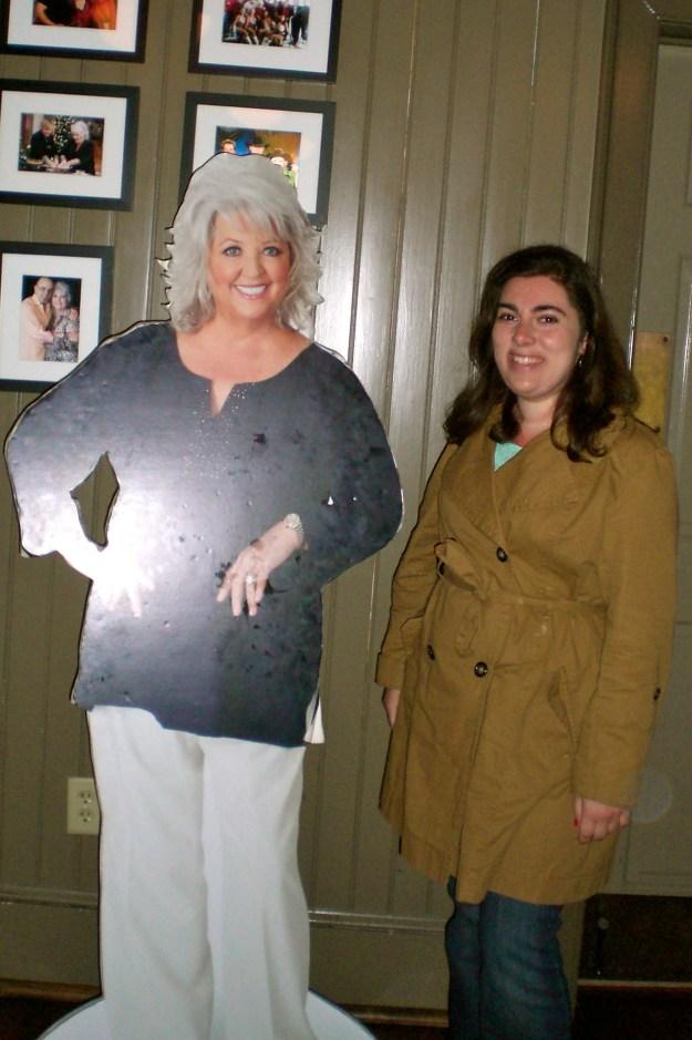 Me with Paula Deen!