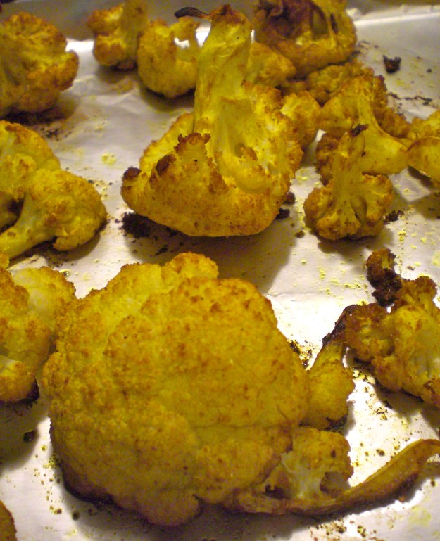 Curried Cauliflower | Simply Scrumptious by Sarah