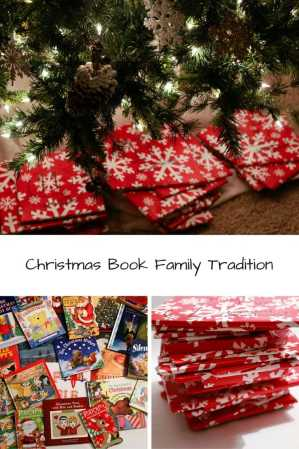 start a family tradition with christmas books, christmas books, family tradition, christmas family tradition, christmas tradition, children's books, children's christmas books, 25 days before christmas, days before christmas, countdown to christmas, wrapping books, books, book