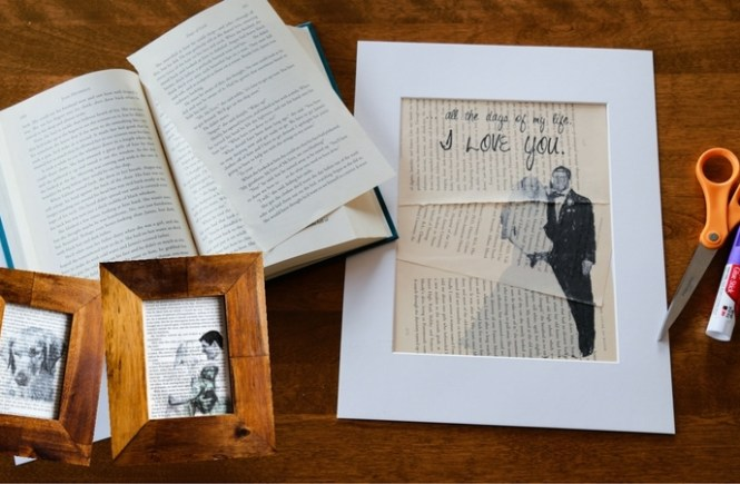 How to Print Photo Art on Book Pages