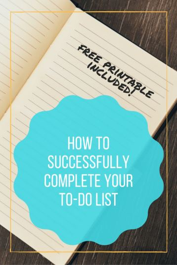 how to successfully complete your weekly to-do list free printable, successfully completing to-do list, to-do list, list, weekly plan, free printable, free printables, printable, printables, free weekly plan printable, weekly calendar printable, weekly calendar