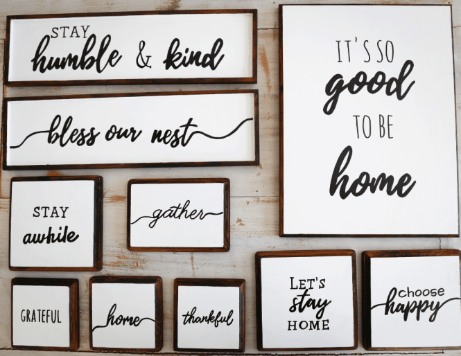 How To Diy Your Dream Farmhouse Wood Signs Simply September