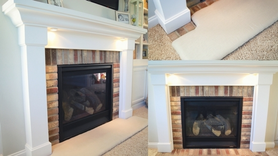 How to Baby-Proof a Fireplace: DIY Hearth Cushion - Simply September