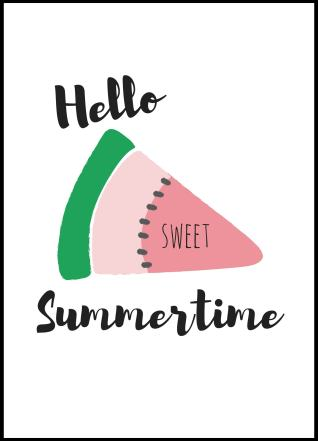hello sunshine, watermelon, hello sunshine, summer, every good summer may have a story, summer story, free printables, free printable, summer printables, summer printable, free summer printable, summer wall decor, summer art, summer printables, sunshine, sun, summer story, best seller