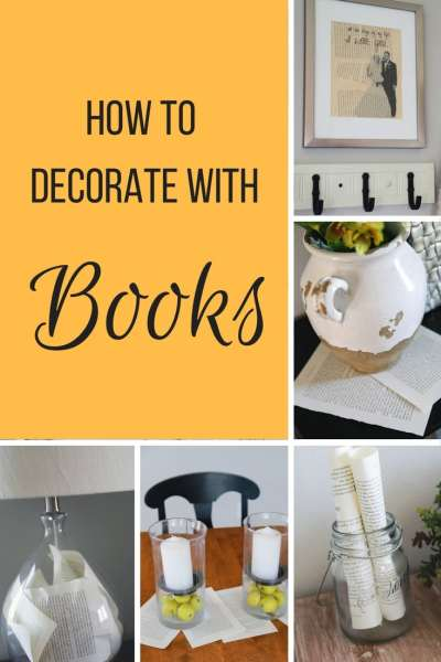 Decorating With Books Mesmerizing How To Creatively Decorate With Books  Simply September Decorating Inspiration