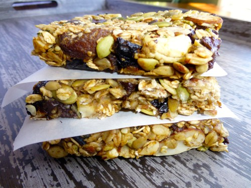 Cherry Apricot Granola Bars