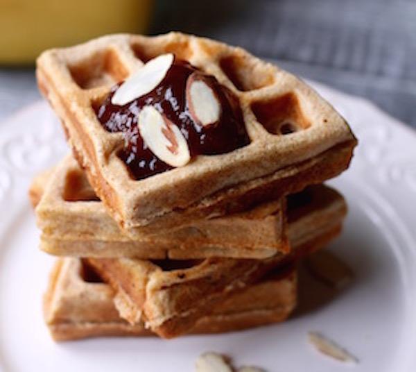 Belgian Spelt Waffles