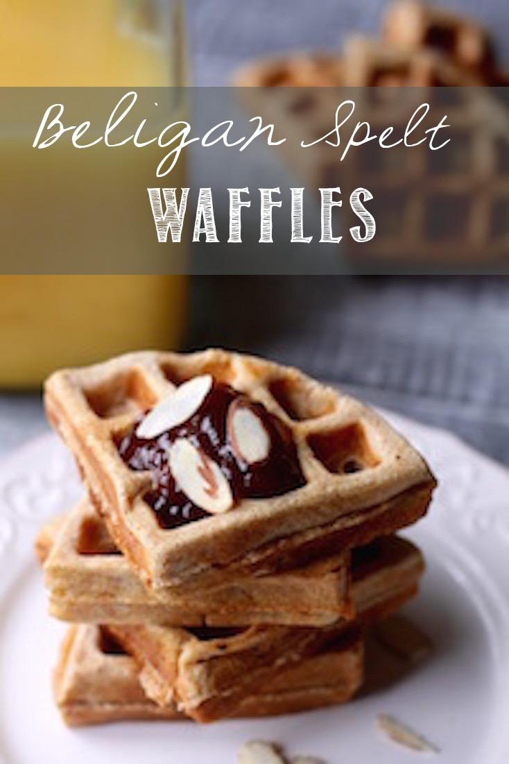 Belgian Spelt Waffles | Simply Sissom