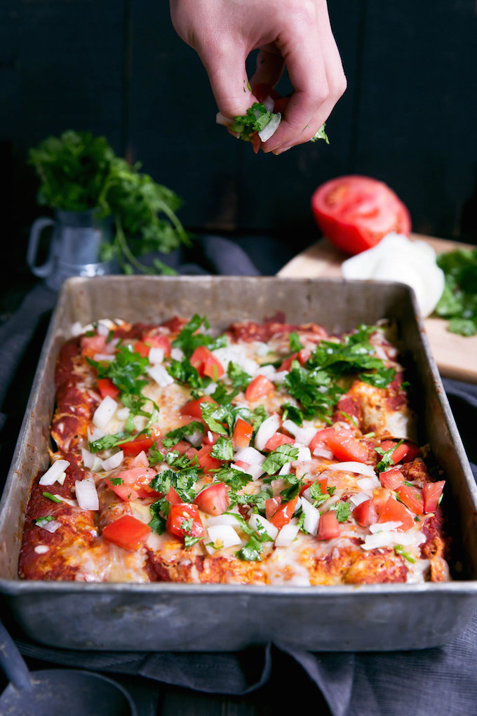 Healthy-Chicken-Enchiladas
