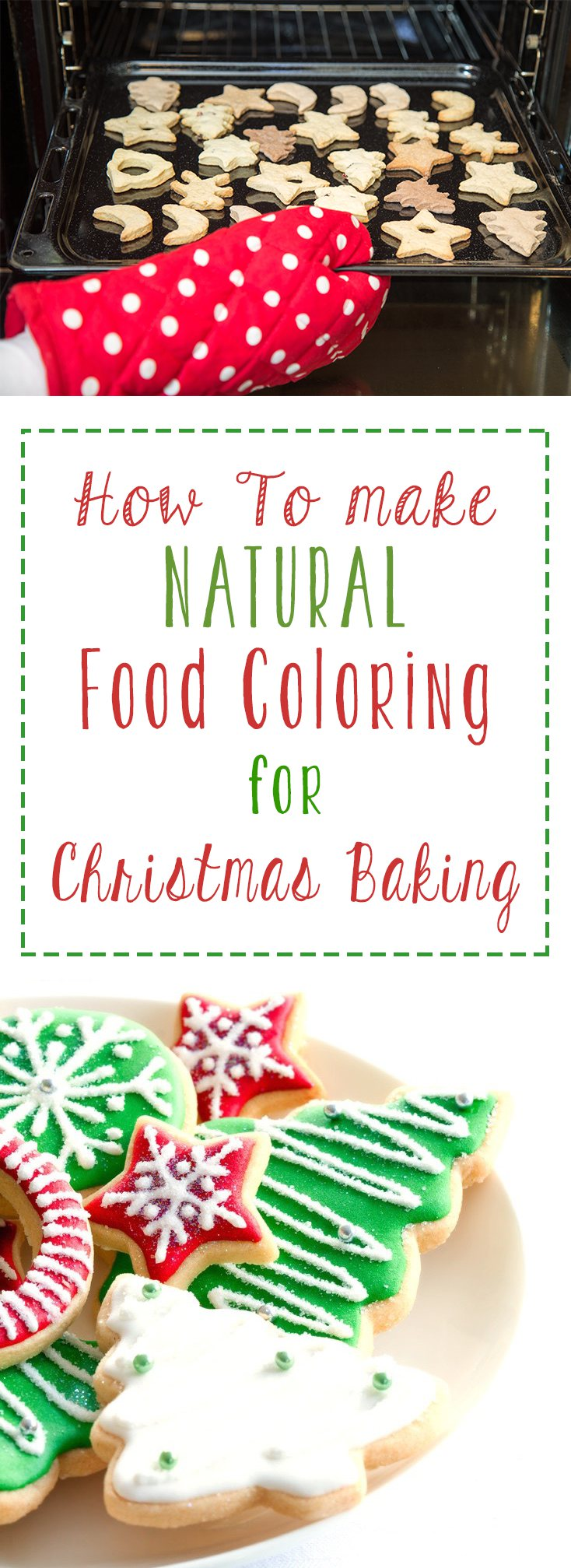 to Make Natural Food Coloring for Christmas Baking