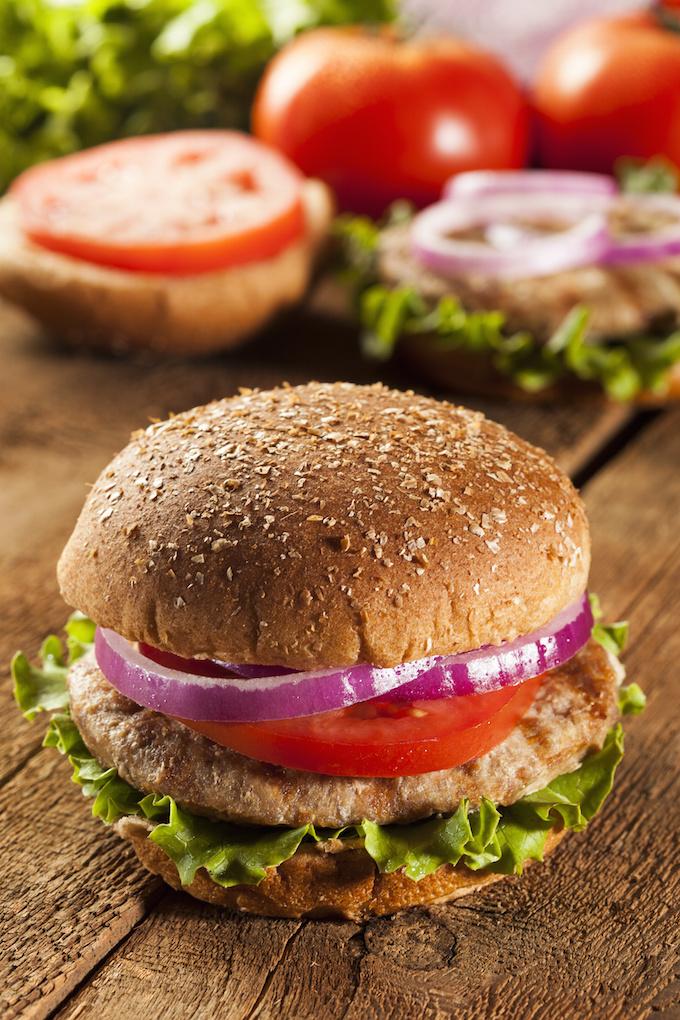 Ultimate Juicy Turkey Burgers