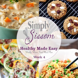 Weekly Meal Plan: Healthy Made Easy (#4)