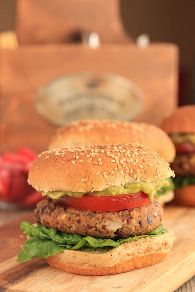 The BEST Veggie Burger. Simple, gluten-free vegan burgers that are actually grill-able. Twelve ingredients, tender, hearty, flavorful, delicious.