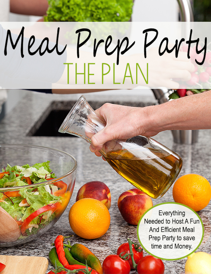 Everything you need to host a fun and efficient meal prep party.