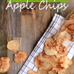 Homemade Apple Chips are simple to make, requiring just 3 –ingredients and 1 baking sheet. Naturally sweet with just a hint of cinnamon.