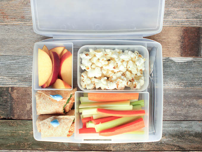 5 MORE Healthy Whole Food Lunch Ideas + Bentology Lunch Box Giveaway