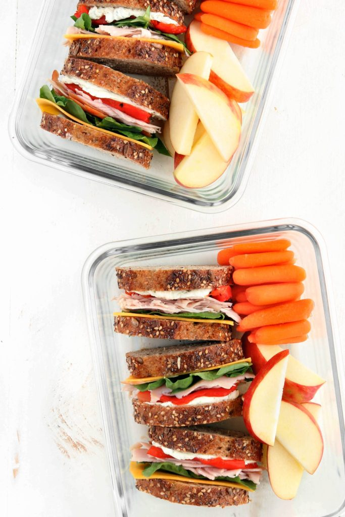 Easily make your own copycat Starbuck's Protein Bistro Box! Healthy, nutritious and prepped for lunch or post workout snacks.