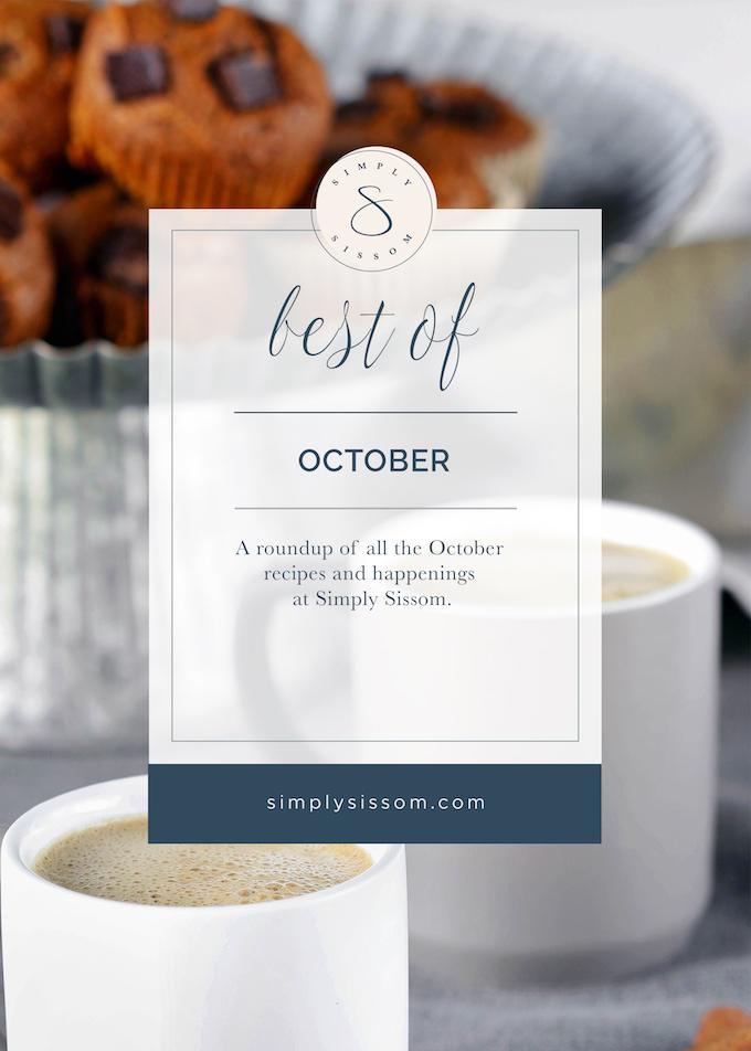 Best of October 2017 - Simply Sissom
