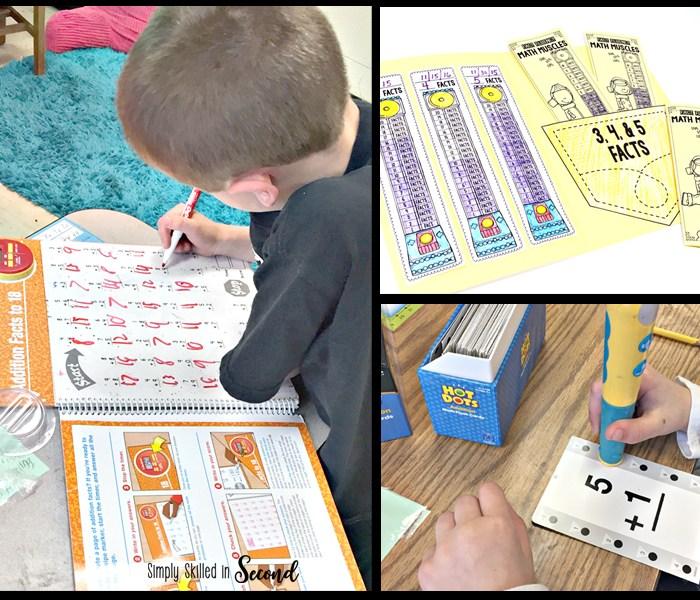 fact fluency, math fact fluency, timed fluency tests, guided math fact fluency