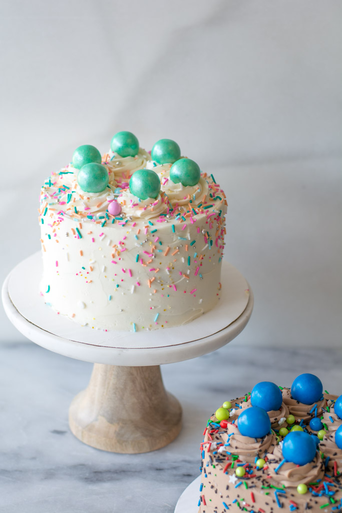Vanilla And Chocolate Party Cakes For Kids Simply So Good