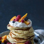 Simply So Good - Blueberry Buttermilk Pancakes