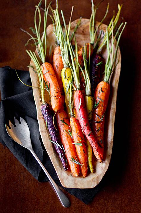 Oh My Veggies Rosemary Roasted Carrots
