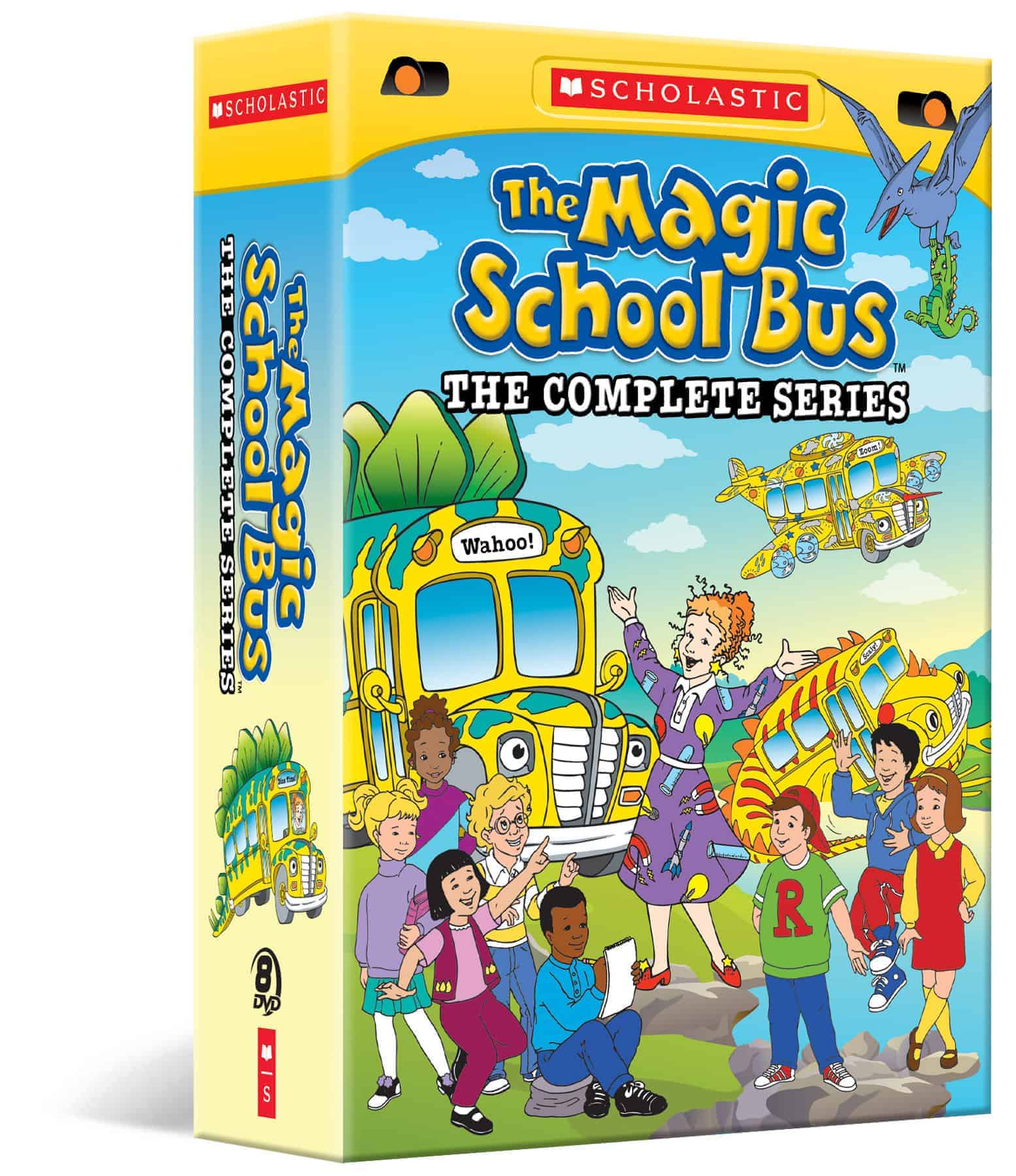 The Magic School Bus The Complete Collection Dvd Review