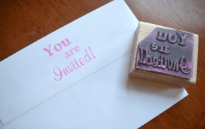 stamped-invitation
