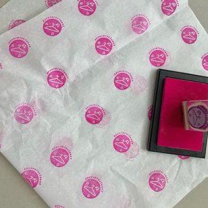 custom logo tissue paper