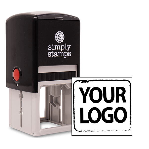 custom self-inking logo stamp