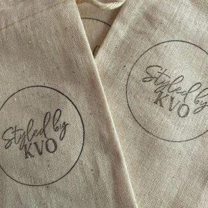 custom logo bag from @syledbykvo