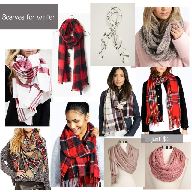 Scarves for winter