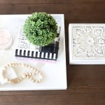 How To Style Wooden Bead Garlands Diy