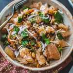 Thai Pomelo Fruit Salad with Shrimp