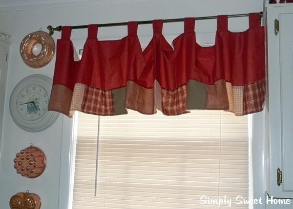 Cabin Curtains for my Kitchen - Simply Sweet Home