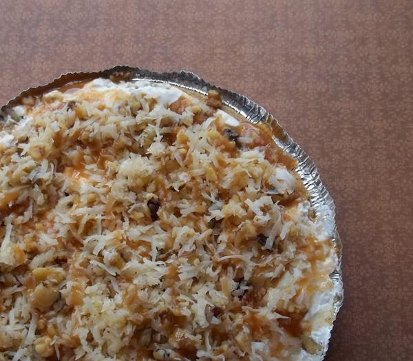 Caramel Drizzle Freezer Pie