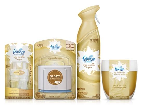 Cozy Vanilla Febreze