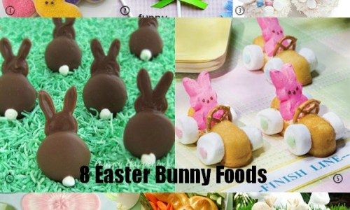 Easter Bunny Foods