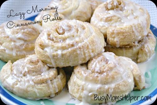 Lazy Morning Cinnamon Rolls