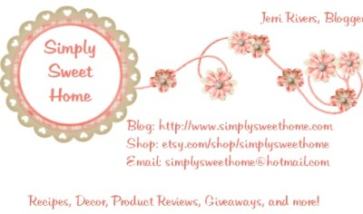 Simply Sweet Home Business Card