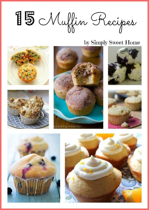 15 Muffin Recipes