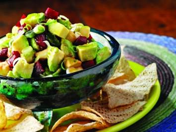Avocado, Beet & Olive Oil Salsa