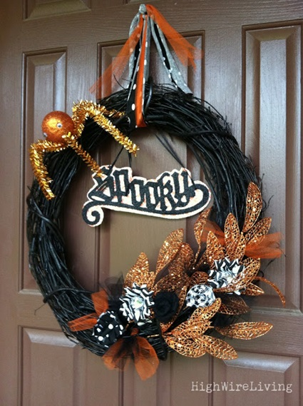 Fall-Halloween Wreath 4