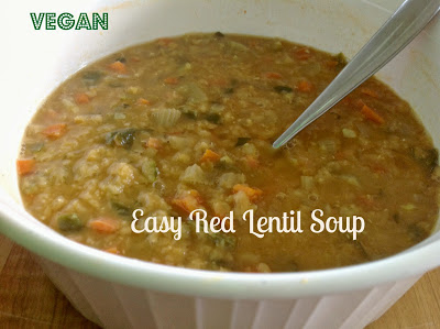Easy Red Lentil Soup
