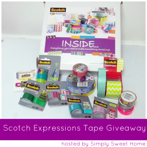 Scotch Expressions Tape Giveaway
