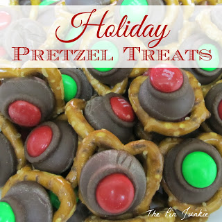 Holiday Pretzel Treats