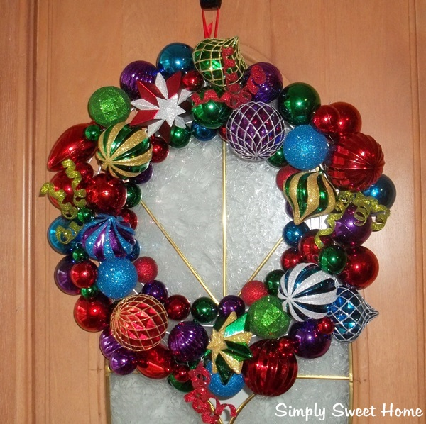 Ornament Wreath Giveaway from CVS/Pharmacy - Simply Sweet Home