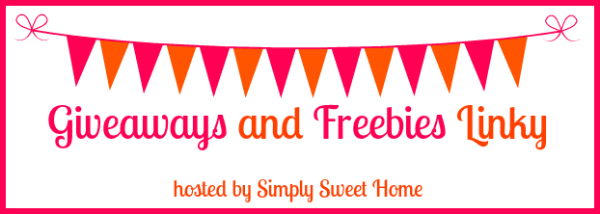 Giveaways and Freebies Linky